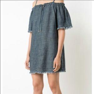 Trina Turk cold shoulder beach dress NWT XS